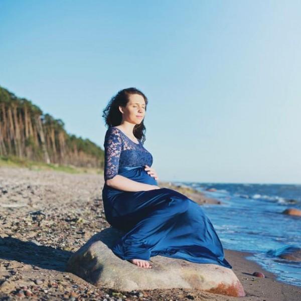 Proginė nėštukės suknelė Lucia Long