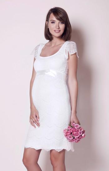Vestuvinė suknelė nėštukei