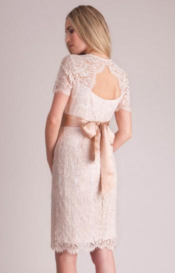 Trumpa nėštukės suknelė