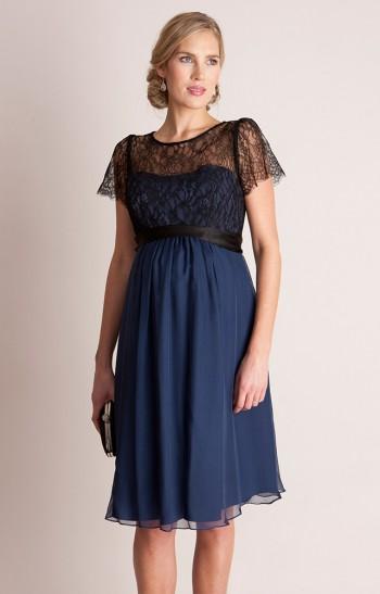 Šilkinė nėštukės suknelė